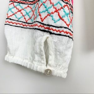Jen's Pirate Booty Tops - Jen's Pirate Booty | Floral Embroidered Top Boho